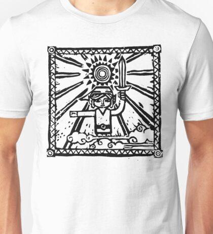 Wind Waker Block Print black Unisex T-Shirt