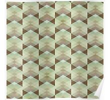 Hipster Pattern Poster
