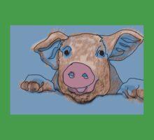 This Little Piggy One Piece - Short Sleeve