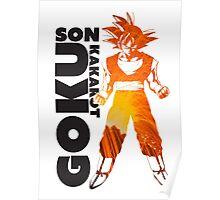 Son Goku Art Decal Poster