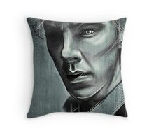 In the Middle of a Crowd Throw Pillow