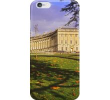Royal Crescent, Bath iPhone Case/Skin