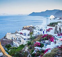 Greek Islands Santorini and wine by tanabe