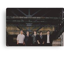 cam nacson and his band Canvas Print