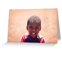 soweto boy Greeting Card