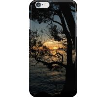 Nightfall at the Lake iPhone Case/Skin