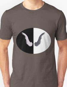 White and Black Wing Unisex T-Shirt