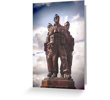 Commando Monument  Greeting Card