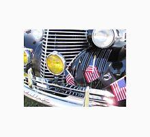 Patriotic 1940 Cadillac American Flag - Brightwork  Unisex T-Shirt