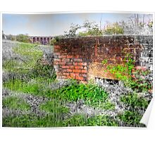 Balcombe Viaduct and Pill Box - HDR  Poster