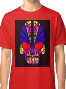 Skull in color Classic T-Shirt