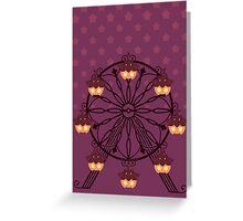 Pumpkawheel Greeting Card