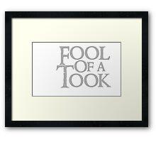 Tookish Fools Framed Print