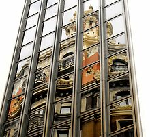 A reflection of Old by Berns