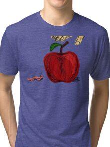 Apple Fight Tri-blend T-Shirt