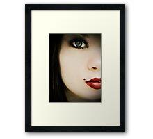 Beauty spot Framed Print