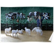 Although all of the animals agreed equally on the pasture rental terms, the sheep still felt they'd been fleeced. Poster