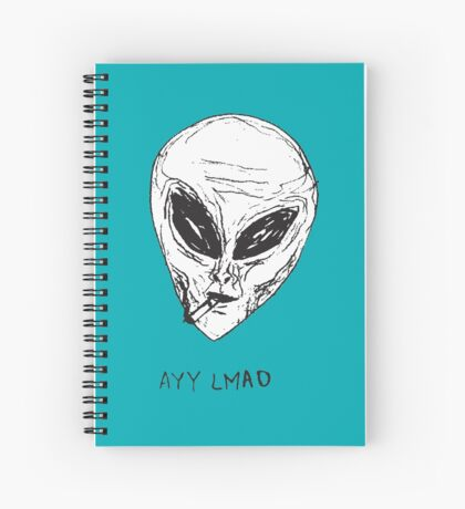 Ayy lmao Spiral Notebook