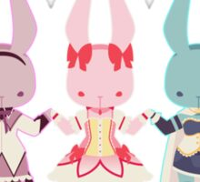 Puella Magi Bunny Magica Sticker