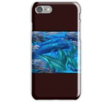 Under water Marine Mammals iPhone Case/Skin
