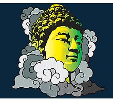 Buddha in the Clouds Photographic Print