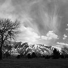 High clouds over Wasatch by Mike Olbinski