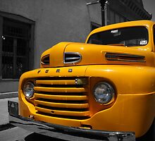 Yellow Ford by Pilot Graphics Photography
