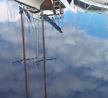 Clouded Masts by Ell-on-Wheels