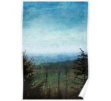View from Clingman's Dome Tennessee Smoky Mountains Poster