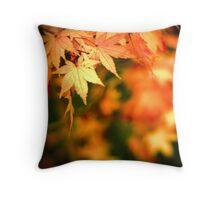 ...autumn splash... Throw Pillow