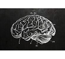 Brain Engraving Photographic Print
