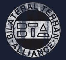 Bilateral Terran Alliance Kids Tee