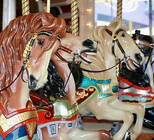 Carousel Horses - Four by Sophia Phoenix