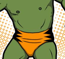 El Forzudo Verde (The Green Force) Sticker