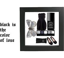 Black is the color of love... by Regrets? Tell  Me About It