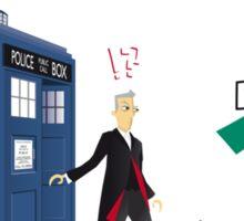 Doctor where? Sticker