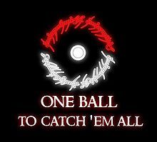 One ball to.. by VahliArt
