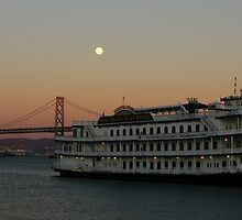San Francisco Belle at nightfall by fototaker