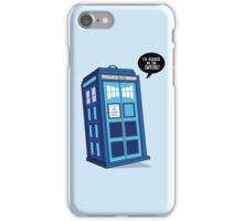 Bigger on the Inside - Doctor Who Shirt iPhone Case/Skin