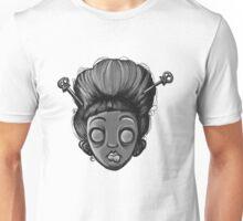 Geisha Girl (Black&White) Unisex T-Shirt