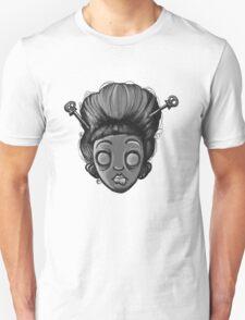 Geisha Girl (Black&White) T-Shirt