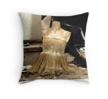 Dressed for Destruction Throw Pillow