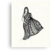 sari Canvas Print