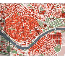 Seville city map classic by PlanosUrbanos