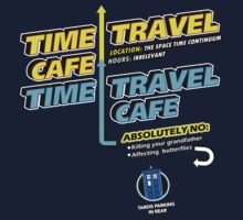 Time Travel Cafe Kids Clothes