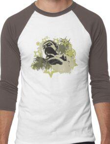 Urban Buddha Men's Baseball ¾ T-Shirt