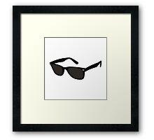 Alex Loves Rayban Wayfarer  Framed Print