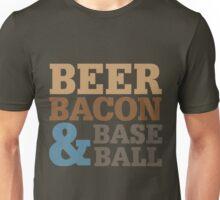 Beer Bacon Baseball Unisex T-Shirt