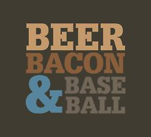 Beer Bacon Baseball Unisex T-Shirt