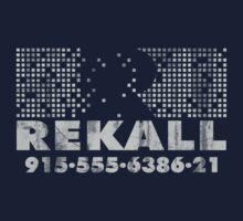 Rekall Distressed One Piece - Short Sleeve